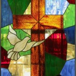 Church-cross-scottish-stained glass
